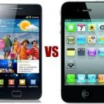 iPhone 4S contro Galaxy S2