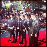 One Direction première londinese