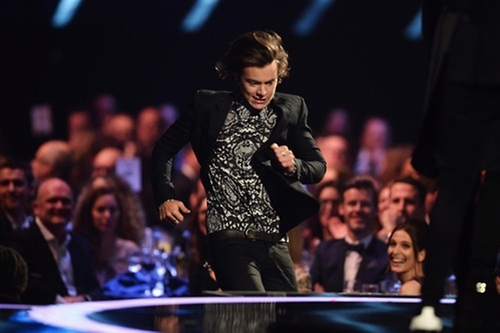 Harry Styles ai Brits 2014