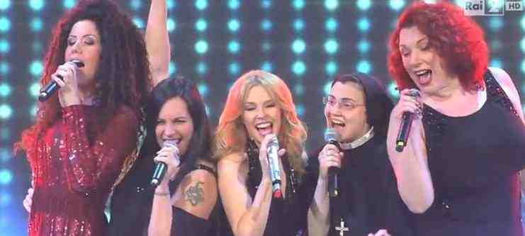 Video The Voice of Italy 2 Kylie Minogue