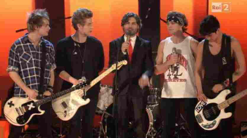 5SOS a The Voice of Italy