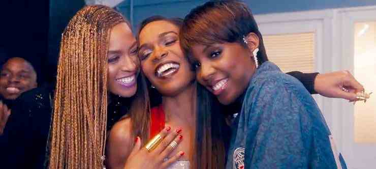 Beyoncé con Michelle Williams e Kelly Rowland: video Say Yes
