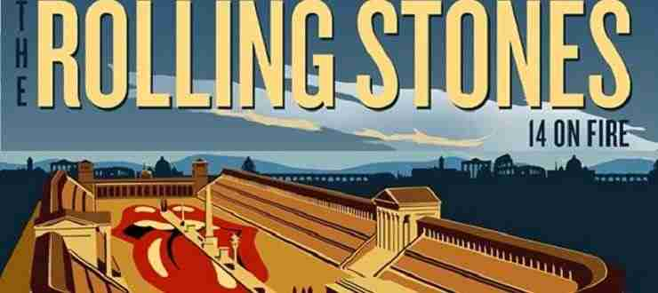 Concerto Rolling Stones a Roma