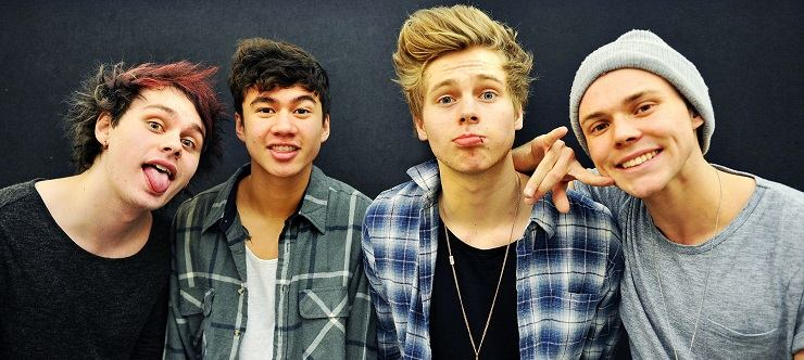 I 5 Seconds of Summer all