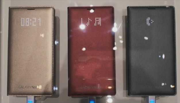 Note 4 LED Cover