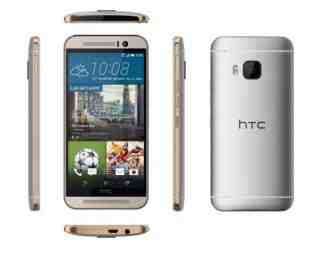 gold & silver htc one m9