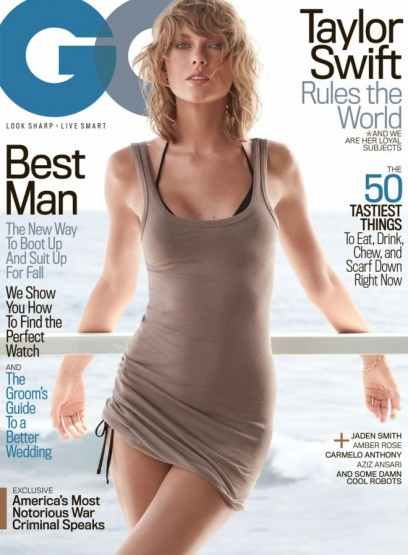 Taylor Swift su GQ