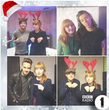 One Direction, Natale 2015