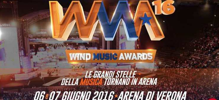 Wind Music Awards 2016, due serate all
