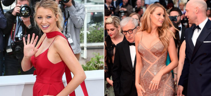 Foto Blake Lively incinta a Cannes 2016