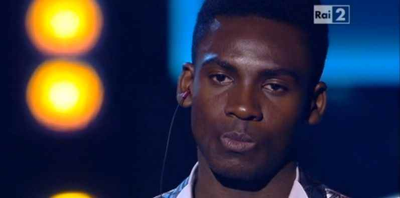 Video e testo Charles Kablan Un cuore solo a The Voice of Italy