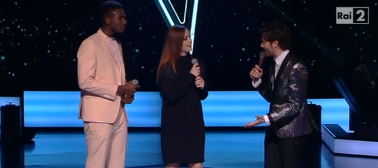 Video Charles Kablan duetta con Annalisa a The Voice of Italy