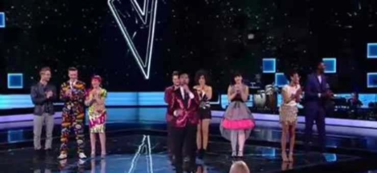 The Voice of Italy, duetti semifinale