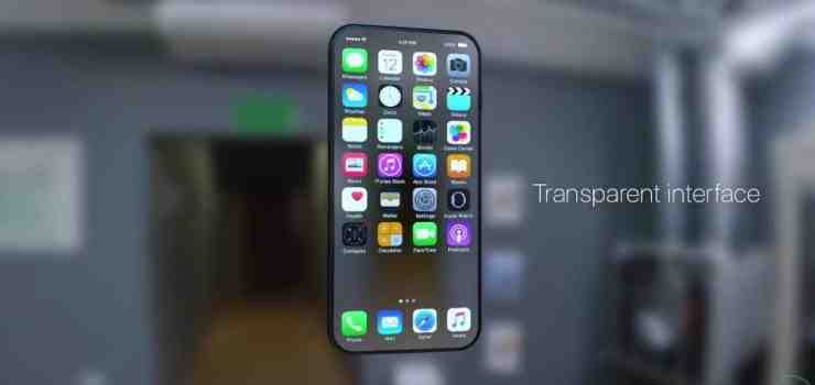 see through iphone foto e concept iphone 8 trasparente tanta 12935
