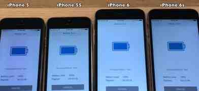 Problemi batteria con iOS 10.3: confronto video per iPhone 6S, 6, 5S e 5 con l'aggiornamento iOS 10.2.1