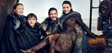 Game of Thrones 7 celebrata con cover a tema e una particolare reunion degli Stark (foto)