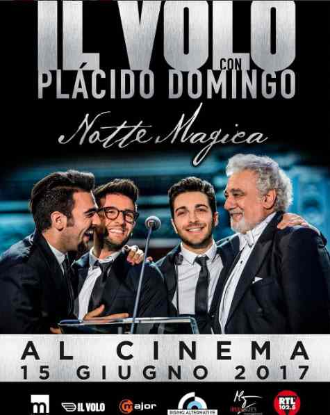 Il Volo al cinema