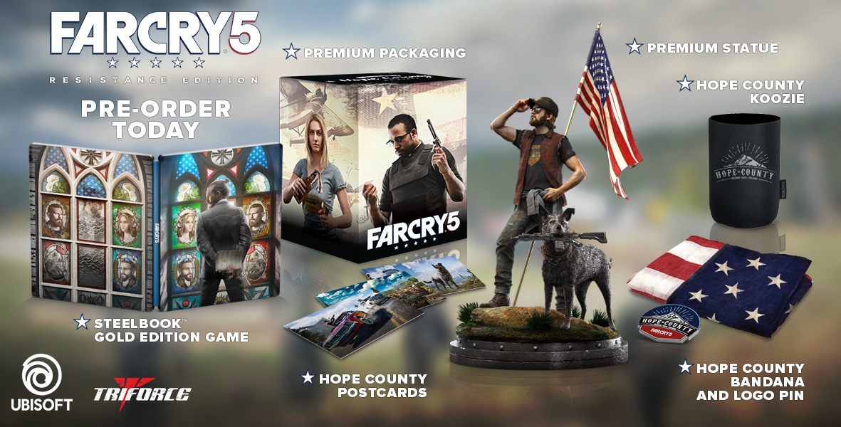 Svelata la Resistance Edition per Far Cry 5