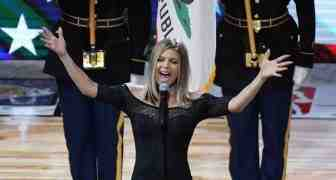 L'inno nazionale di Fergie all'All Star Game 2018 in version