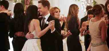 L'addio di Meghan Markle e Patrick J Adams a Suits in tv e s