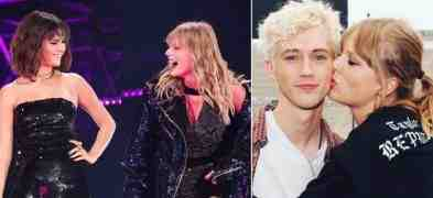 I duetti di Taylor Swift con Selena Gomez e Troye Silvan, migliori amici al Reputation Tour (video)