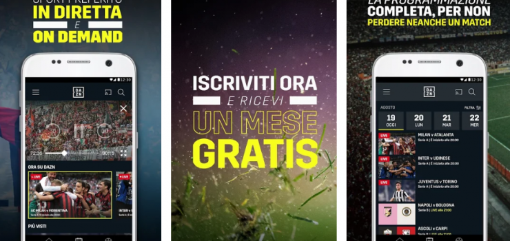 app dazn su playstation
