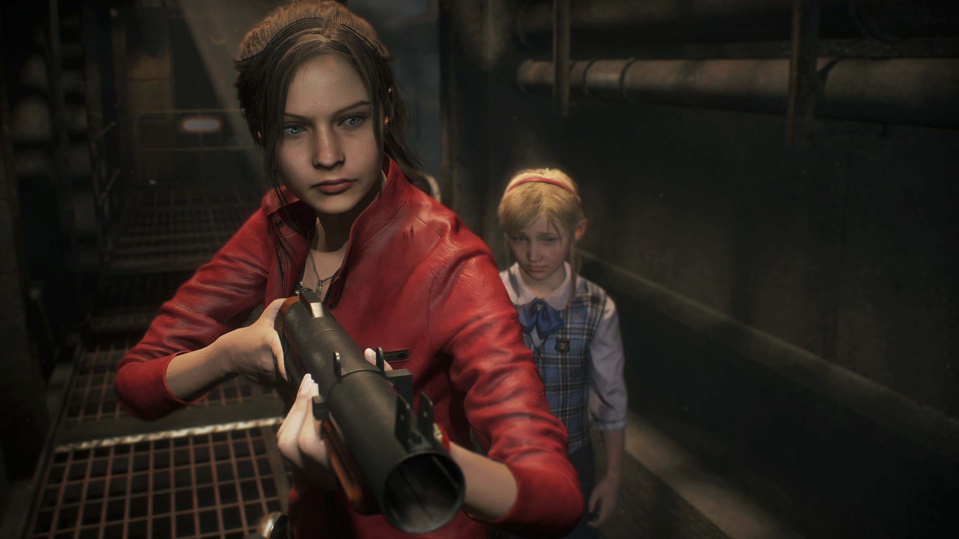 Claire in Resident Evil 2 Remake