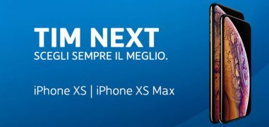 Rinnovo TIM Next: rate iPhone XS, XS Max e XR con vincolo di