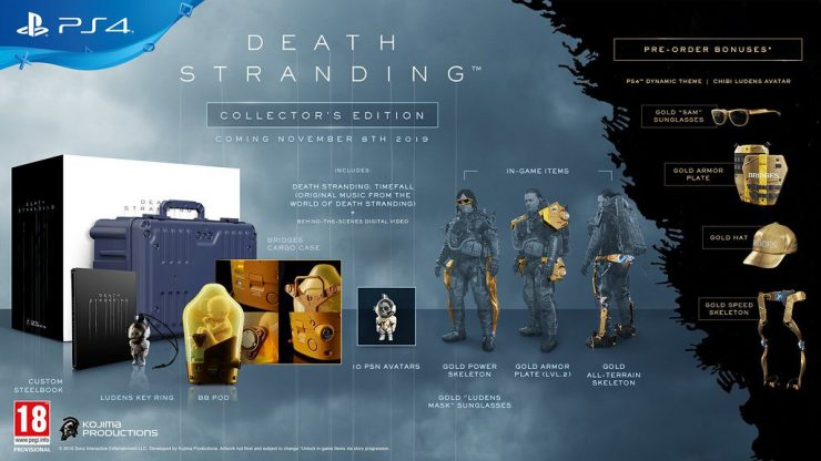 La Collector's Edition di Death Stranding