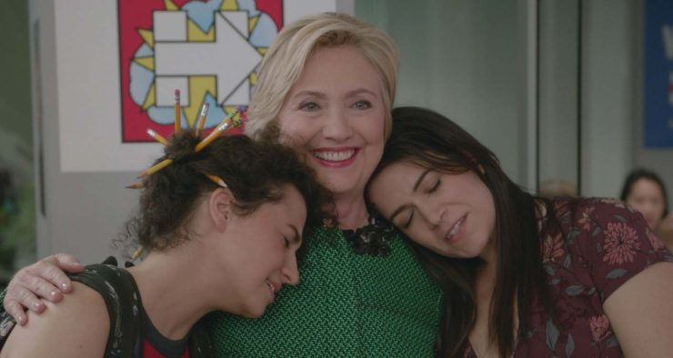 Hillary Clinton in Broad City