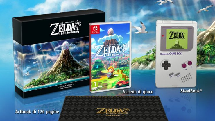 La Limited Edition di Zelda Link's Awakening da GameStop e Amazon