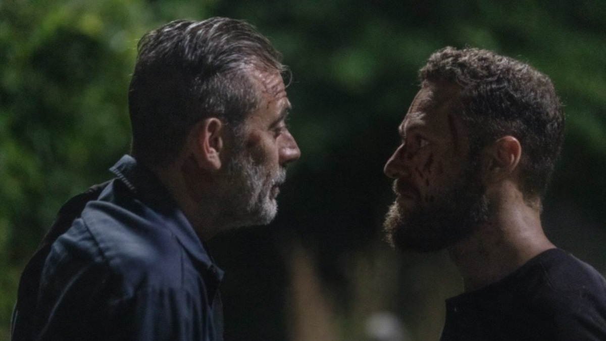 In The Walking Dead 10×04 tutti vogliono vendetta, Negan ent
