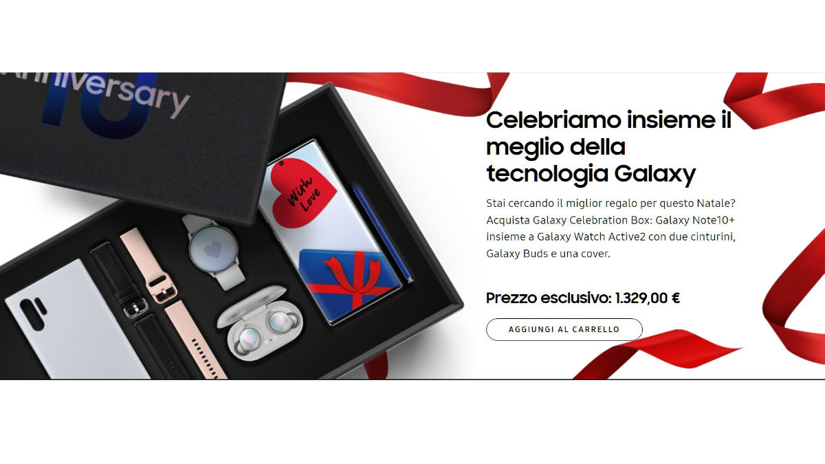 Conviene la Samsung Galaxy Celebration Box? Analisi prezzo d