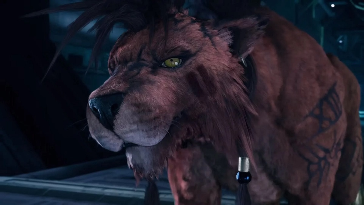 Red XIII in Final Fantasy 7 Remake