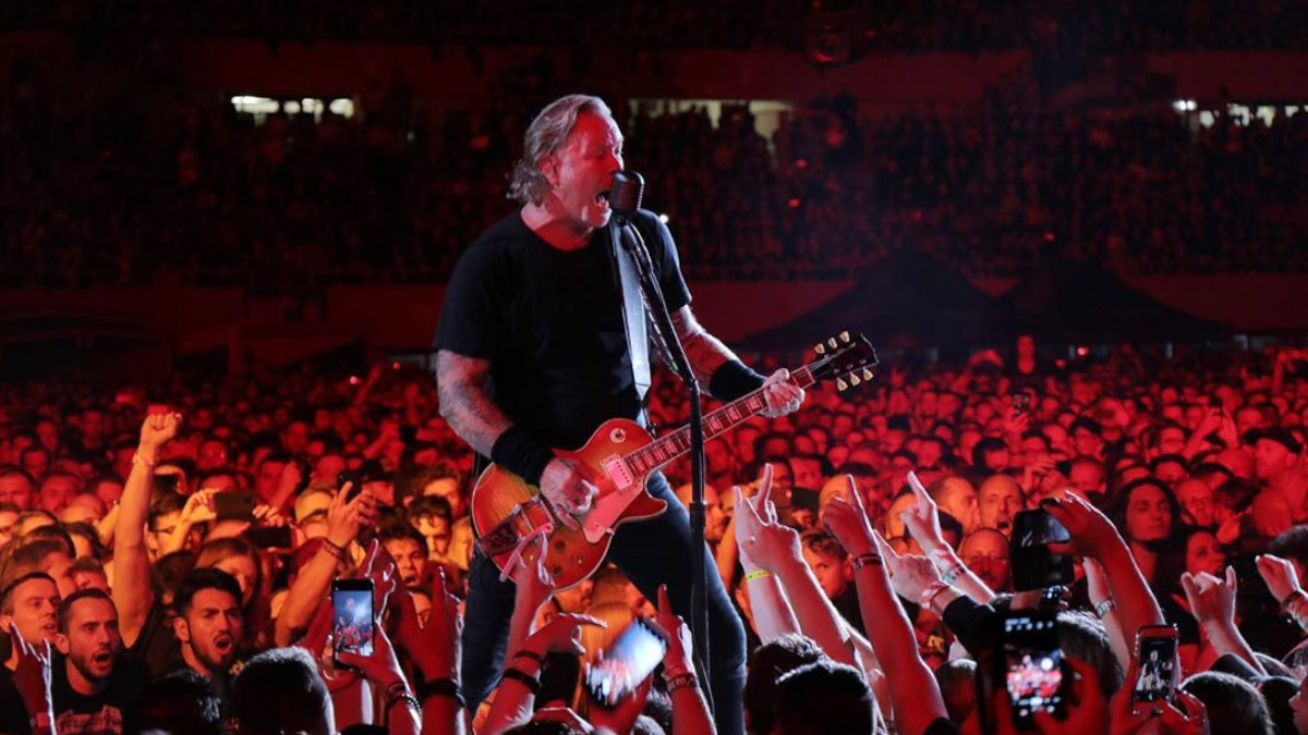 La lettera di James Hetfield ai fan dei Metallica per la can