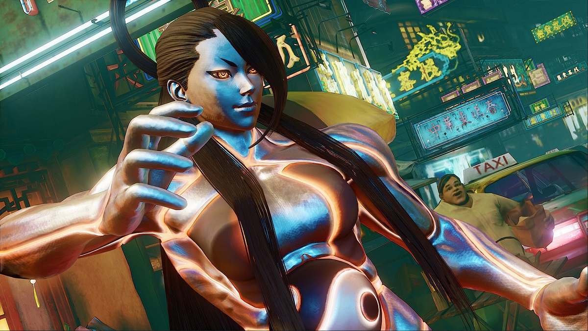 Seth in Street Fighter 5 Champion Edition