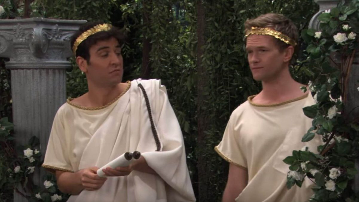 Ted e Barney in How I Met Your Mother