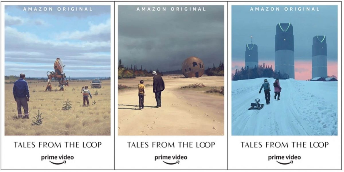 Il poster di Tales from the Loop su Prime Video