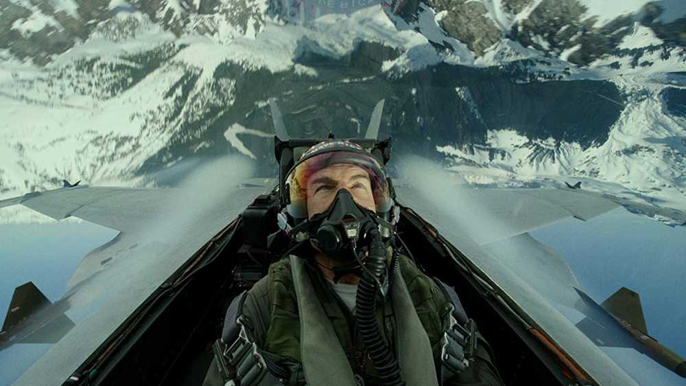 Tom Cruise in volo