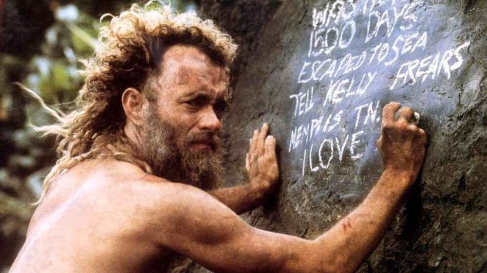 Cast Away, stasera in tv il film con Tom Hanks, il James Stewart ...
