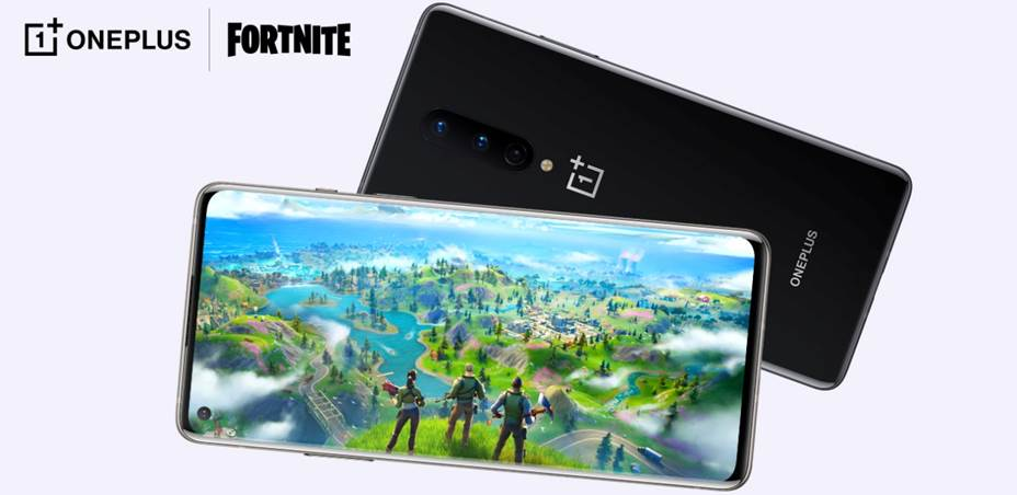 Fortnite Mobile OnePlus 8 Series a 90FPS
