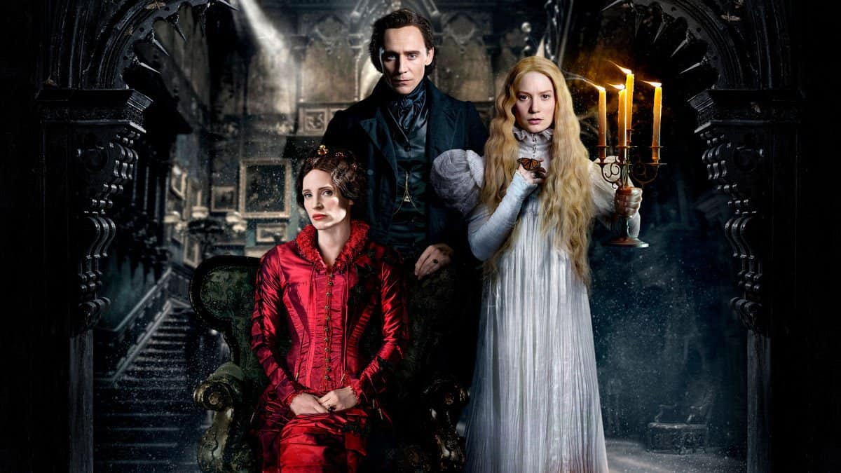 Crimson peak - film in tv