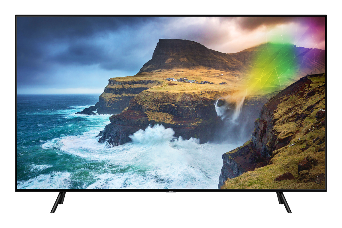 Con la Samsung TV QLED 2020 un Galaxy S10 o una soundbar in