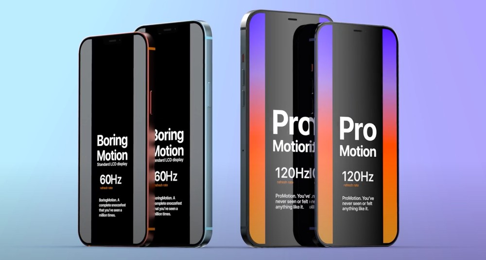 display iphone 12 pro e pro max