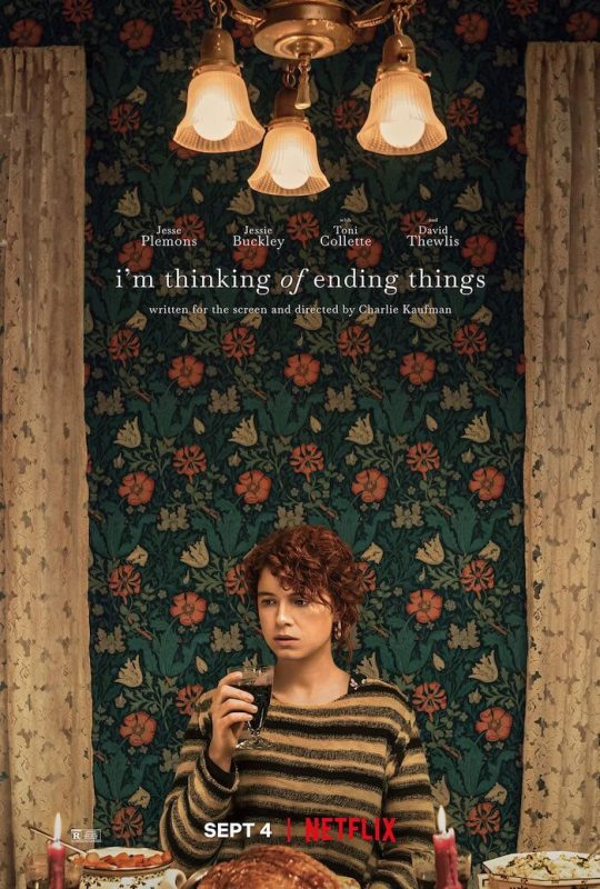 Il poster di Im Thinking of Ending Things su Netflix