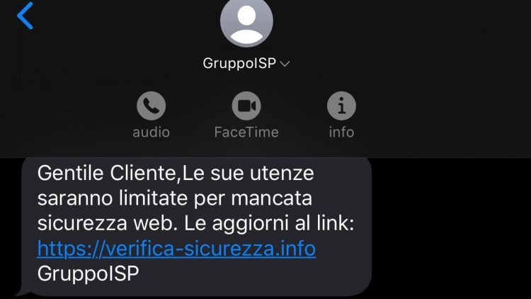 SMS Gruppo IS